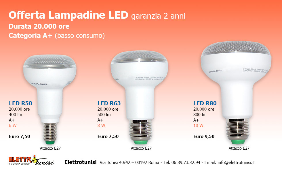 lampadine LED Archives - romapratishop i negozi di Roma Prati