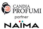 Candia Profumi partner Naima, profumeria, cosmetici, articoli per la bellezza a Roma Prati, zona Vaticano