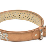 women's leather belt made in italy